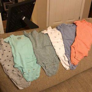 Boys 12 month onesie lot